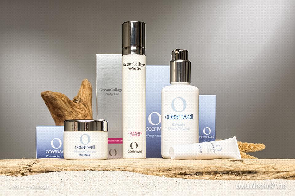 Pflegeprodukte aus nachhaltiger Herstellung von Oceanwell // Foto: MeerART