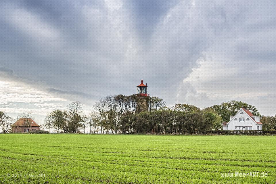Der Leutturm in Staberhuk auf der Ostseeinsel Fehmarn // Foto: MeerART
