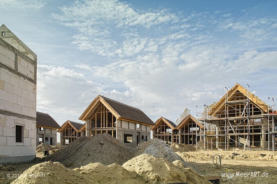Baustelle des Primus Strand Resorts in Heiligenhafen // Foto: MeerART