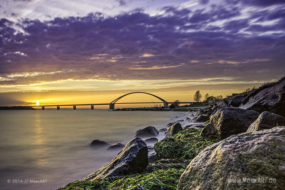Die Fehmarnsundbrücke - MeerART