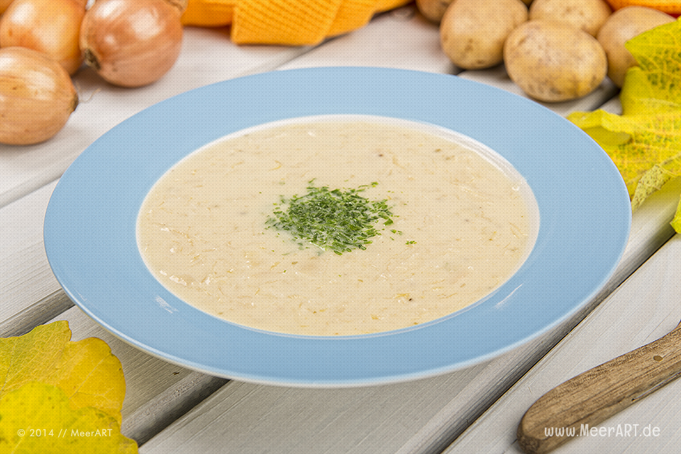 Rezept-Tipp: Sauerkrautsuppe // Foto: R. Kerpa