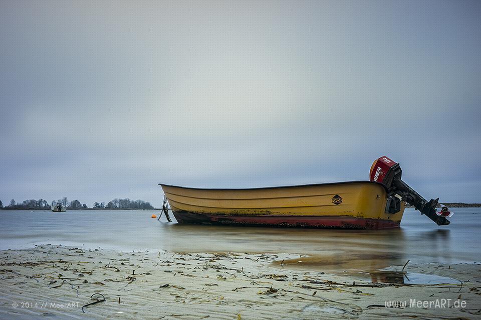 Boote auf der Ostsee bei Westerbergen // Foto: MeerART