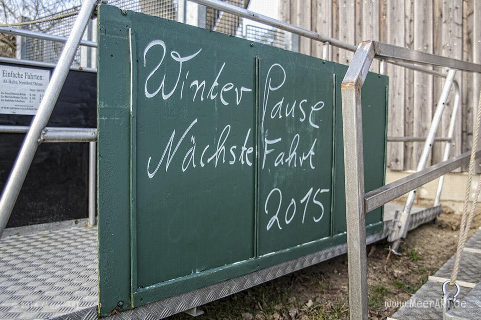 Winterimpressionen aus dem beschaulichen Niendorf an der Ostsee // Foto: MeerART