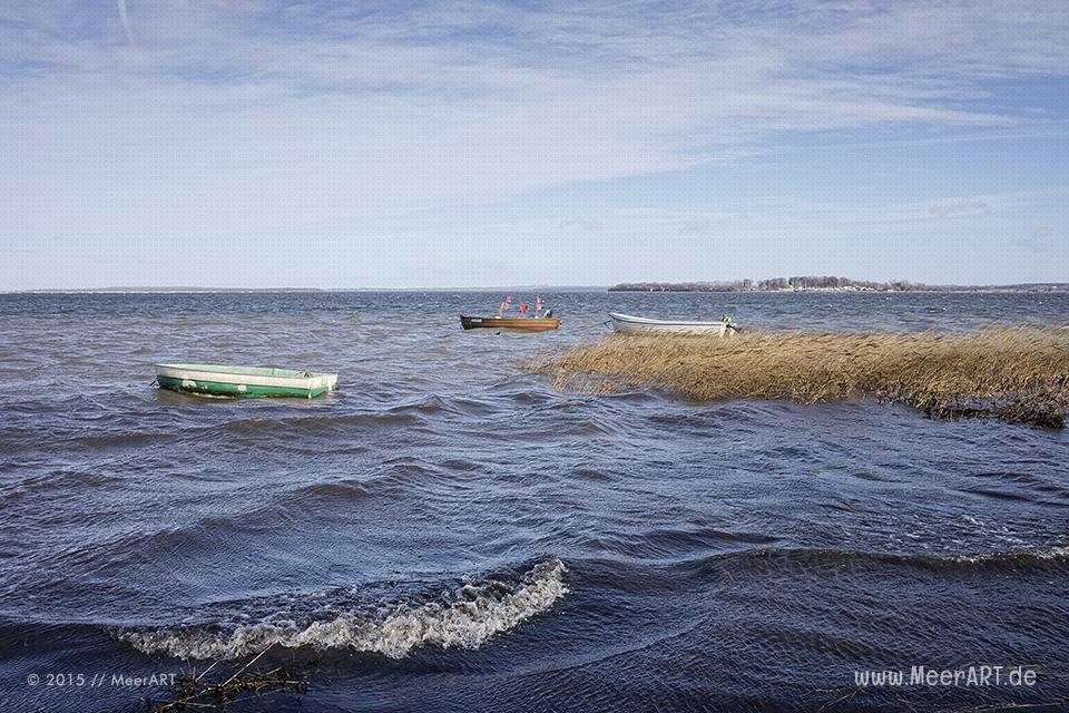 Ein schöner Wintertag im Februar 2015 auf der Insel Poel // Foto: MeerART