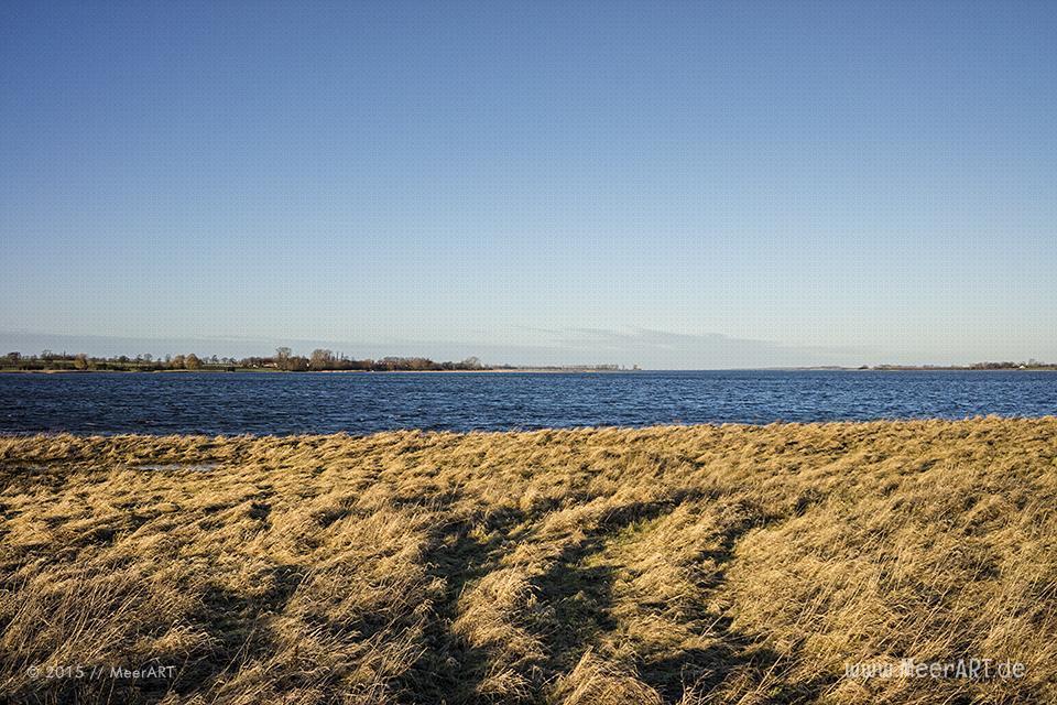 Naturschutzgebiet an der Ostseeküste am Poel-Damm in der Wismarer Bucht // Foto: MeerART