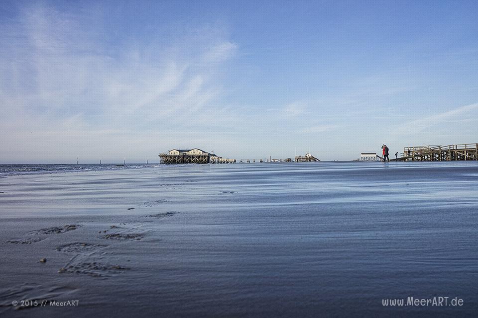 Impressionen von einem fantastischen Frühlingstag an der Nordsee in St. Peter-Ording // Foto: MeerART