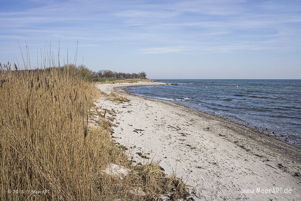 Ein wunderschöner Frühlingstag auf der Ostseeinsel Fehmarn bei Fehmarnsund und Strukkamphuk // Foto: MeerART