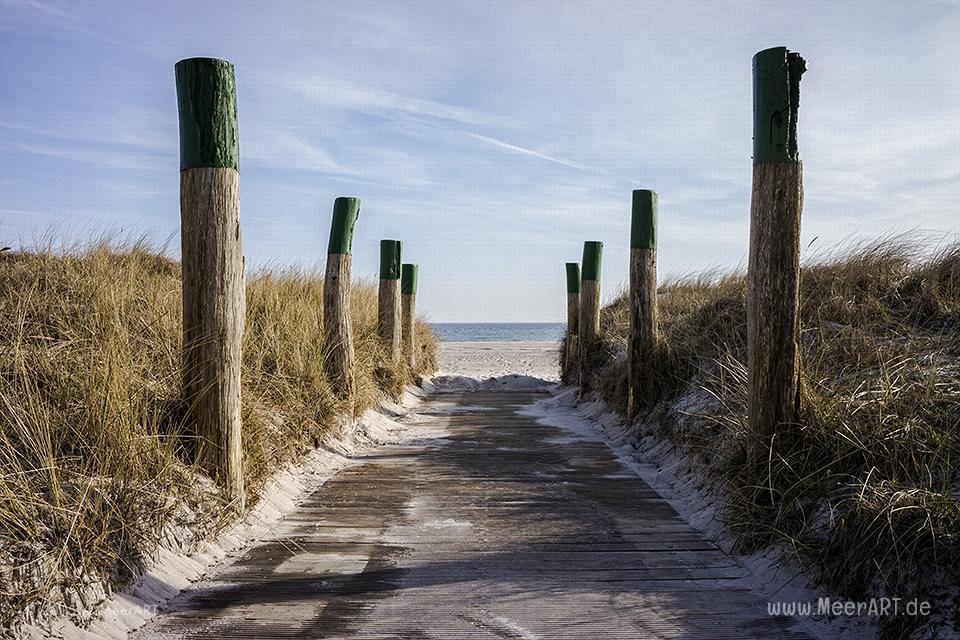 Impressionen vom Südstrand auf der Ostseeinsel Fehmarn // Foto: MeerART