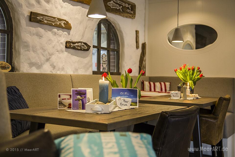 """Bericht für MeerART vom """"Mein Inselhotel"""" (Inh. Gunnar u. Kerstin Jöns) in Norddorf auf Amrum // Foto: MeerART / R. Kerpa"""