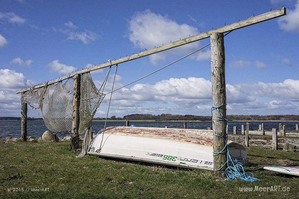 Impressionen aus dem idyllischen Fischerdorf Maasholm // Foto: MeerART