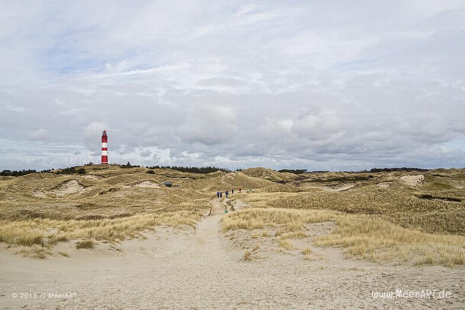 Impressionen von der Nordseeinsel Amrum und der beeindruckenden Dünenlandschaft // Foto: MeerART