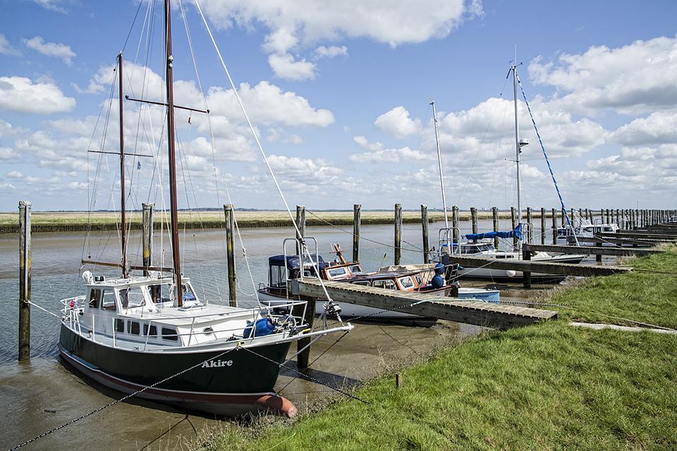 Impressionen von der eingedeichten Halbinsel Nordstrand in Nordfriesland // Foto: MeerART
