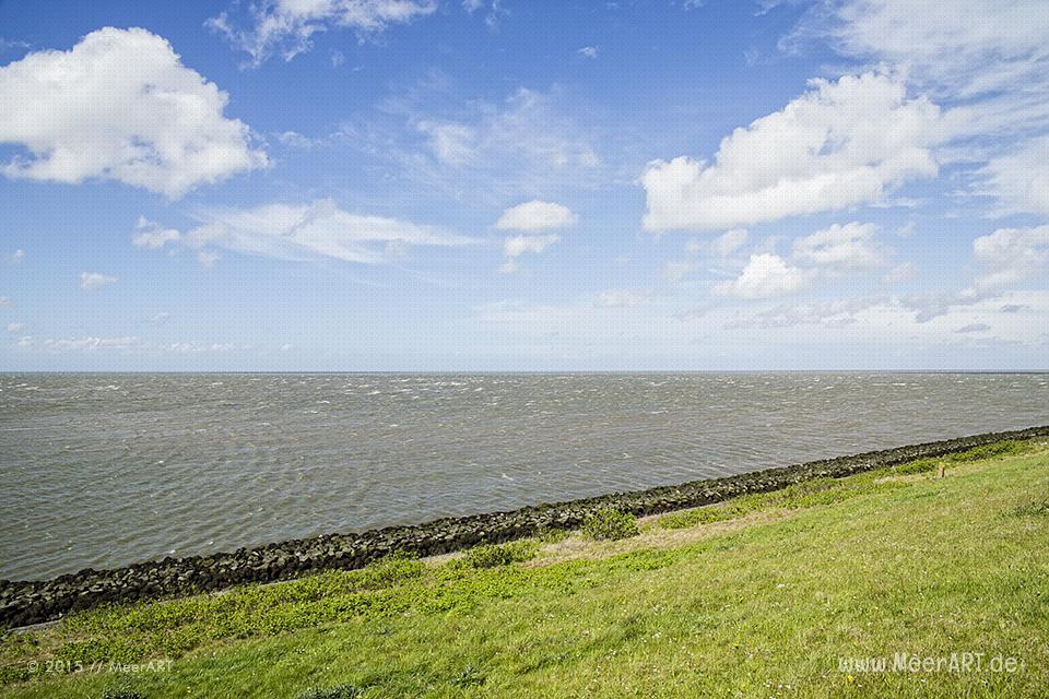Unterwegs an der Nordsee auf der A7/E22 in Richtung Den Helder // Foto: MeerART