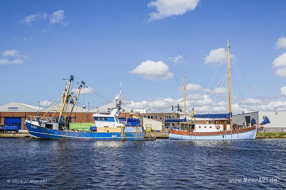 Zwischenstopp in der niederländischen Hafenstadt Den Helder // Foto: MeerART