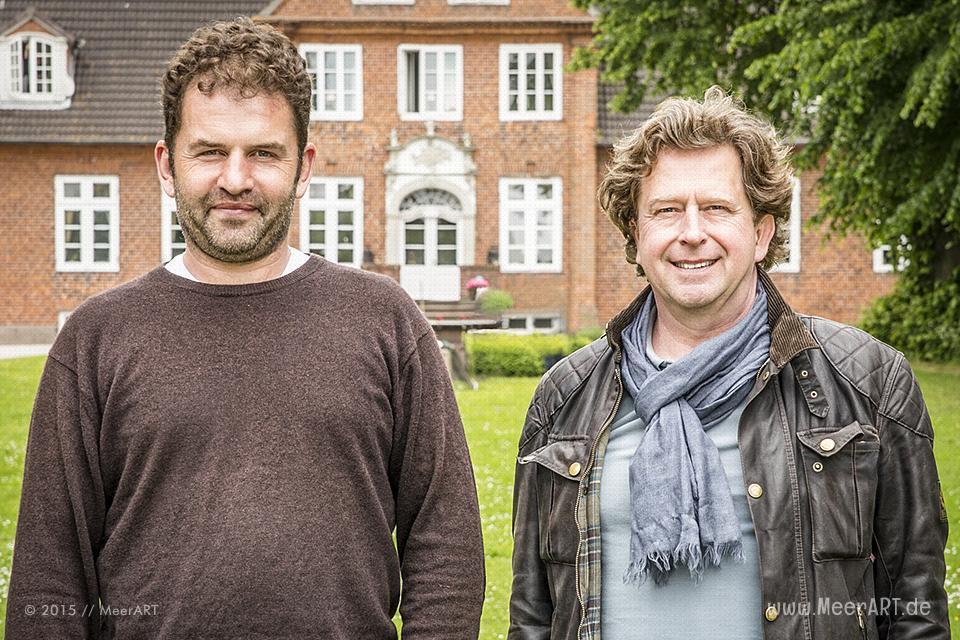 Christopher Walter und Dirk Münze von der Ostseesalz-Manufaktur // Foto: MeerART