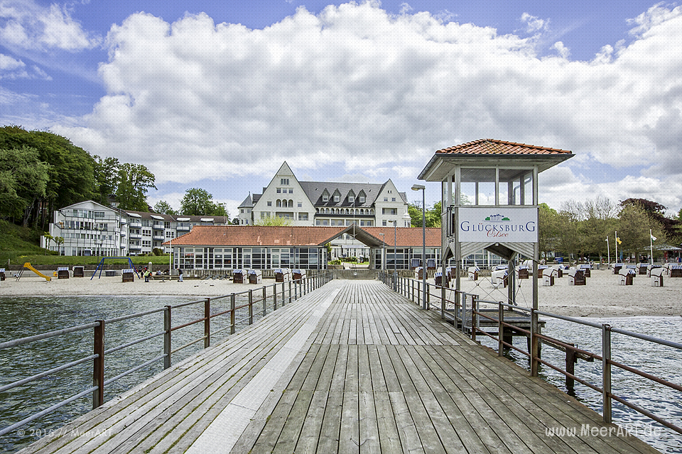 Impressionen vom Besuch im Strandhotel Glücksburg am 25.05.2015 // Foto: MeerART