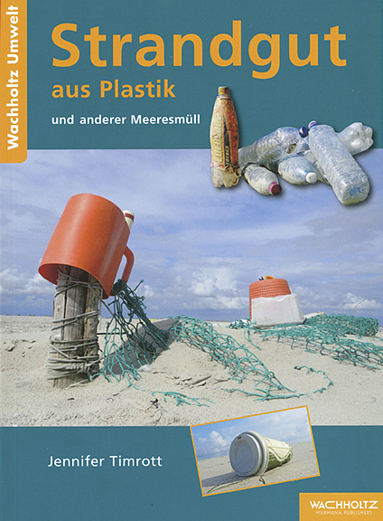 Buchtitel - Strandgut aus Plastik