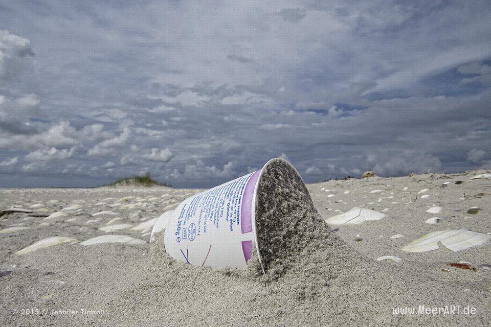 Strandgut aus Plastik