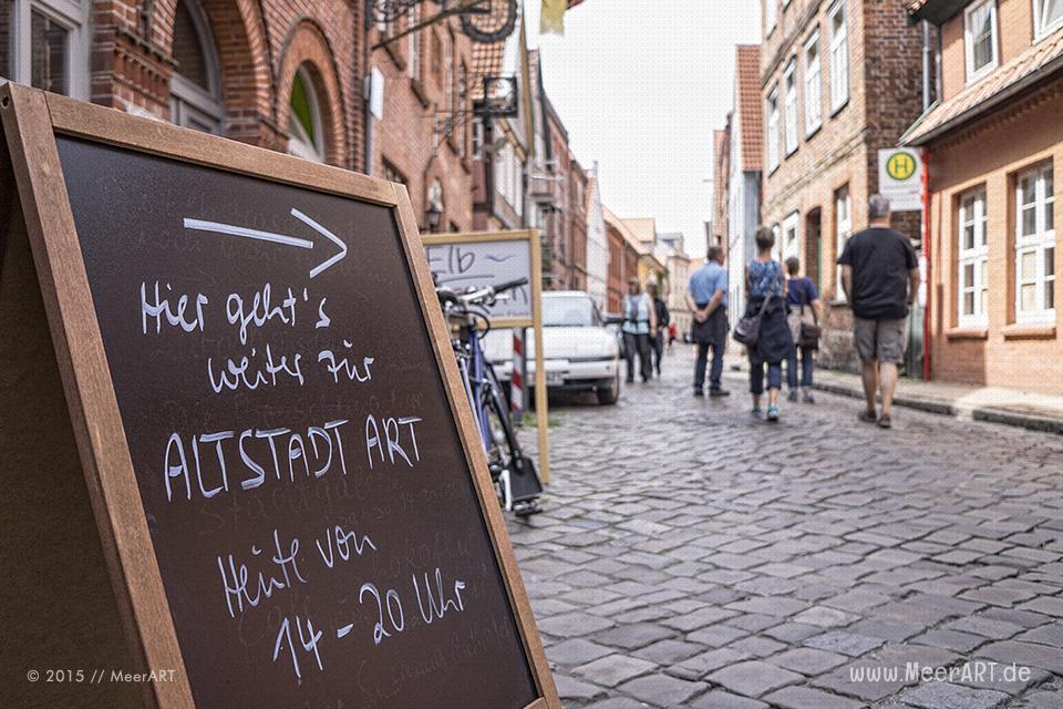 Altstadt ART in Lauenburg am 11.+12.07.2015 // Foto: MeerART