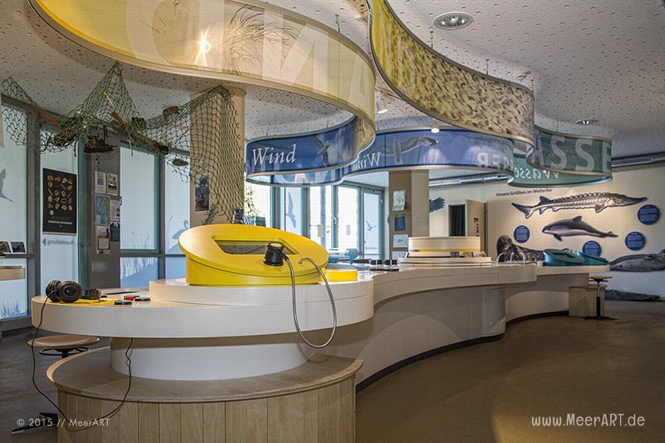 Nationalpark-Haus der Schutzstation Wattenmeer in St. Peter-Ording // Foto: MeerART