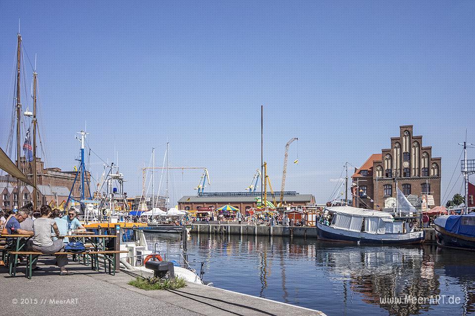 Der alte Hafen in der schönen Hansestadt Wismar // Foto: MeerART