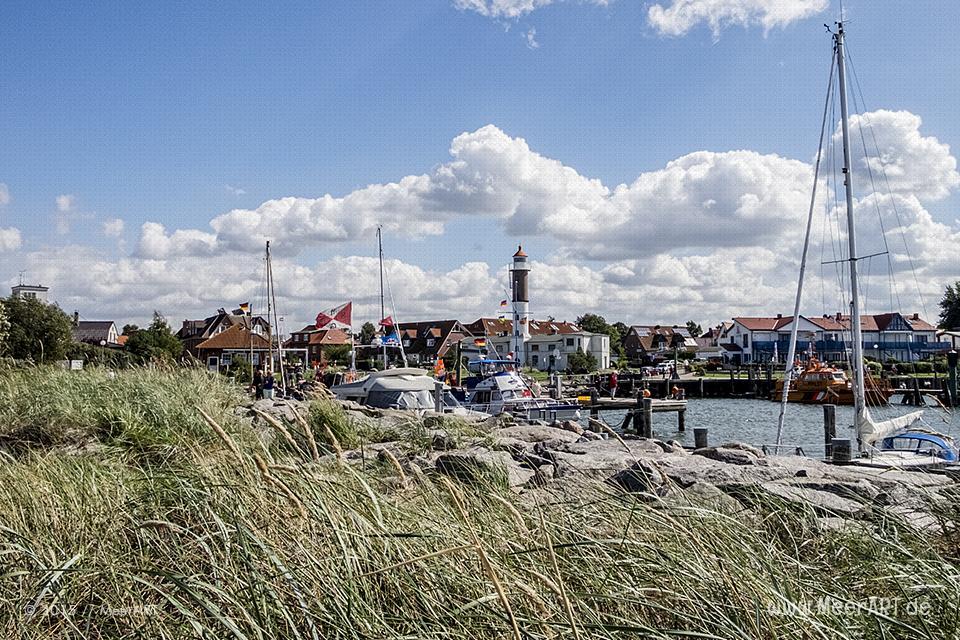 Der Hafen von Timmendorf auf der idyllischen Insel Poel // Foto: MeerART
