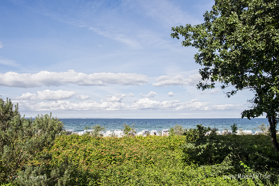 Impressionen an einem schönen Spätsommer Tag in Timmendorfer Strand // Foto: MeerART