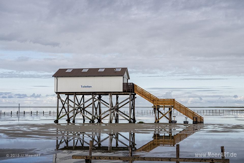 Impressionen vom Strand an der Nordsee in St. Peter-Ording // Foto: MeerART