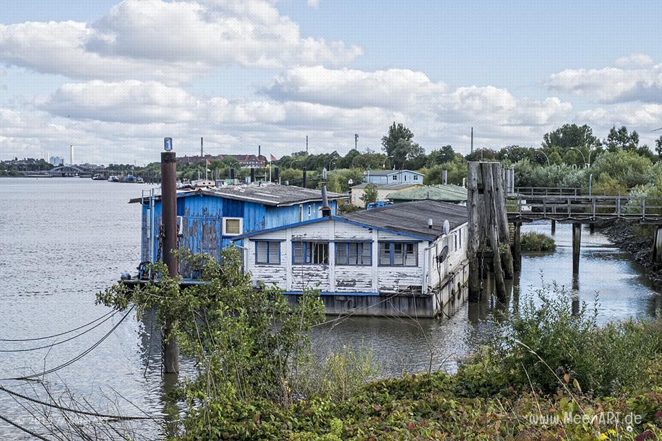 Impressionen aus dem Spreehafen in Hamburg Wilhelmsburg // Foto: MeerART