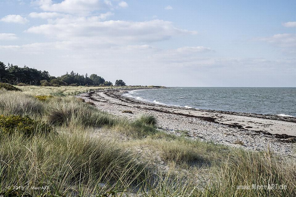 Strandabschnitt auf Fehmarn zwischen Gammendorf und Westermarkelsdorf // Foto: MeerART
