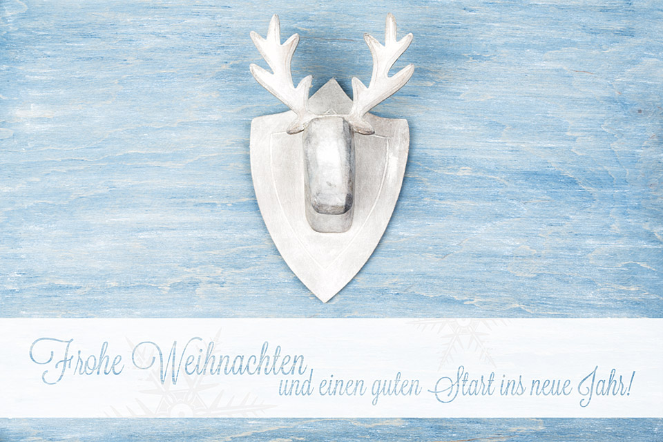 Frohe Weihnachten und einen guten Start ins neue Jahr // Foto: MeerART