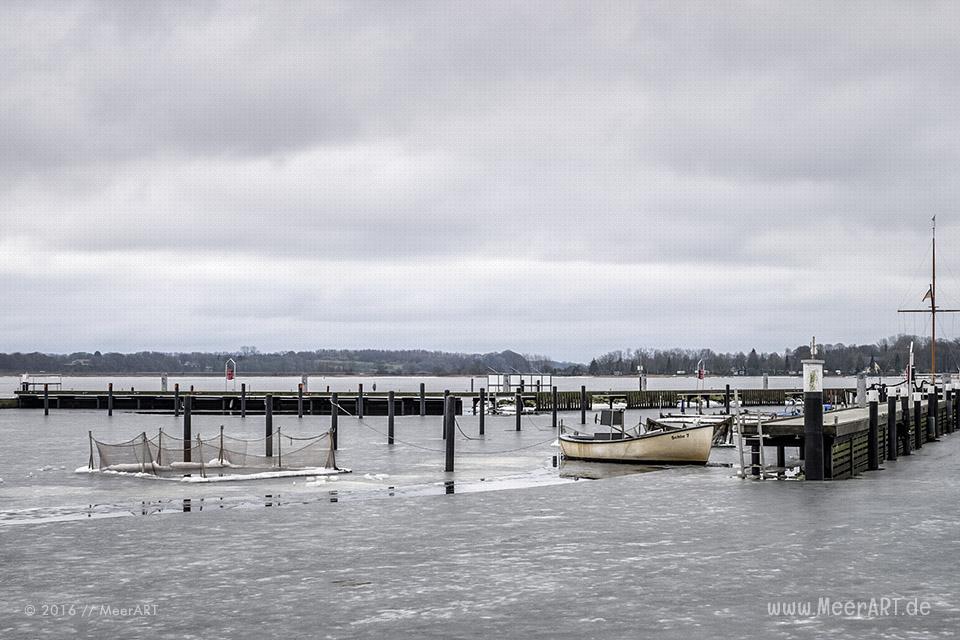 Winterimpressionen von der Schlei bei Schleswig // Foto: MeerART