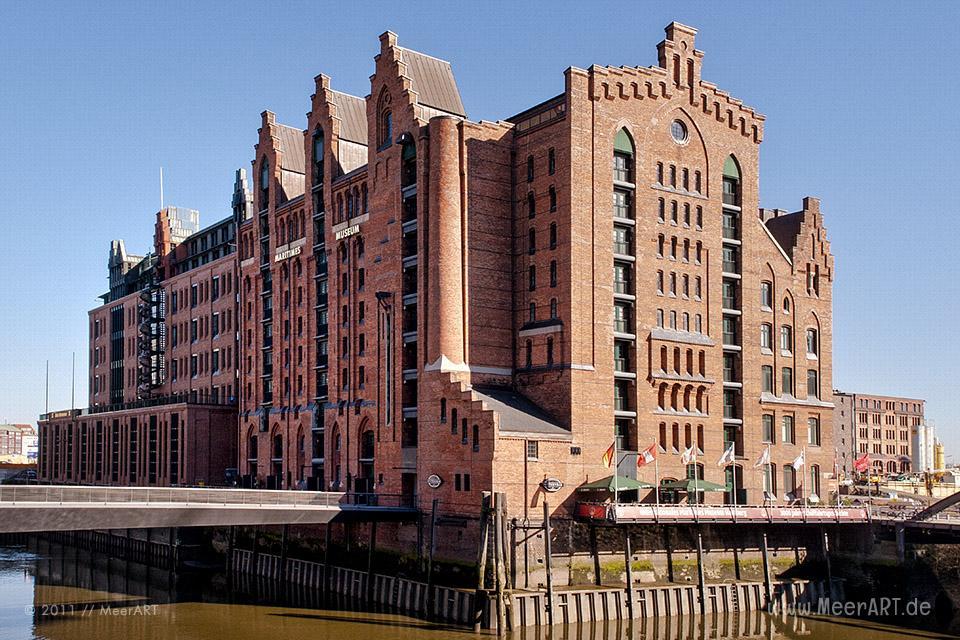 Internationales Maritimes Museum im Kaispeicher B in der HafenCity von Hamburg / Foto: MeerART