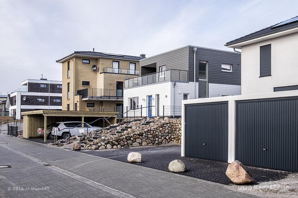 """Das noch im Bau befindliche """"Ostsee Resort Olpenitz"""" in der Nähe von Kappeln zwischen Ostsee und Schleimündung // Foto: MeerART"""