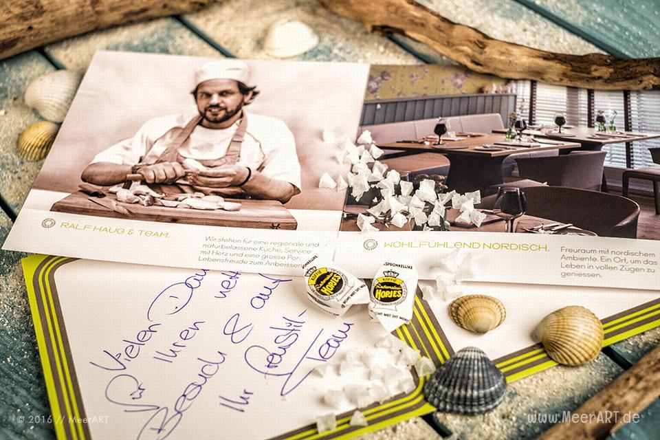 Das Sterne-Restaurant FREUSTIL von Ralf-Haug in Binz // Foto: MeerART