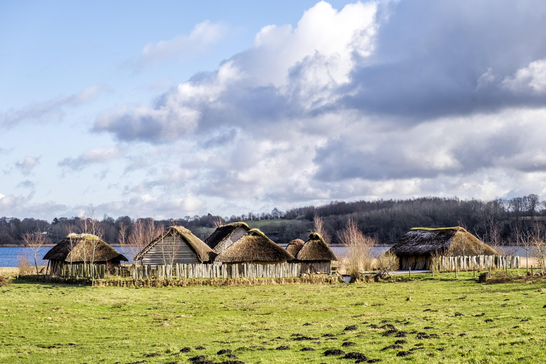 Winterimpressionen aus Haithabu bei Schleswig an der Schlei // Foto: MeerART