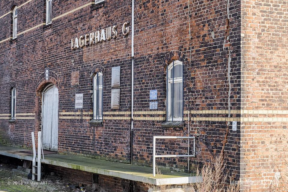 Impressionen aus dem ehemaligen Freihafen in Hamburg // Foto: MeerART