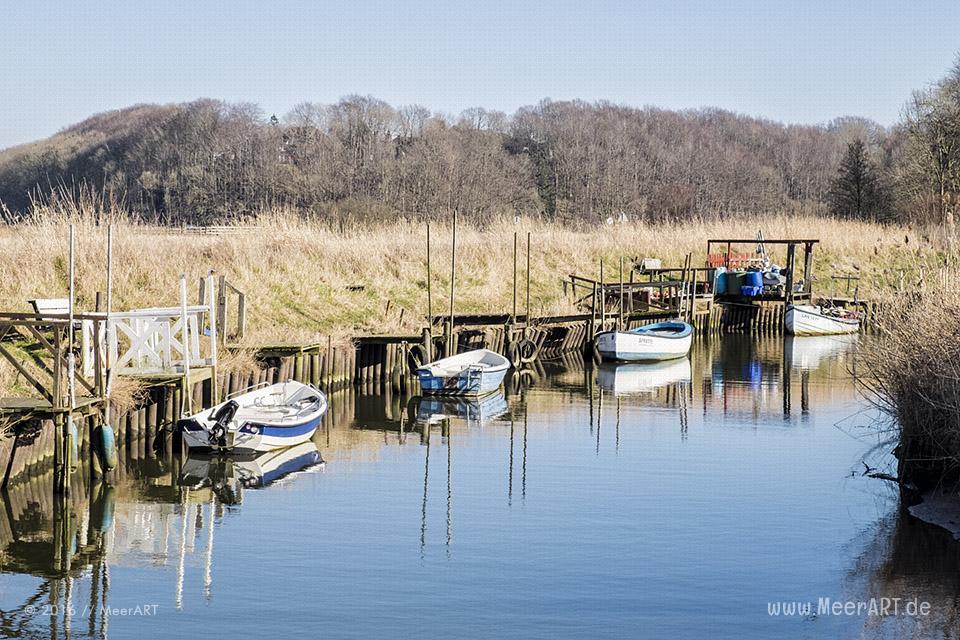 Impressionen aus dem Kreishafen in Langballigau // Foto: MeerART