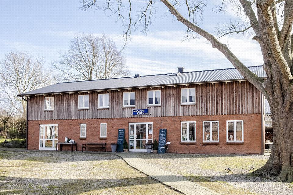 """Bericht für MeerART von """"Janbecks FAIRhaus"""" in Gelting / Lehbek // Foto: MeerART"""