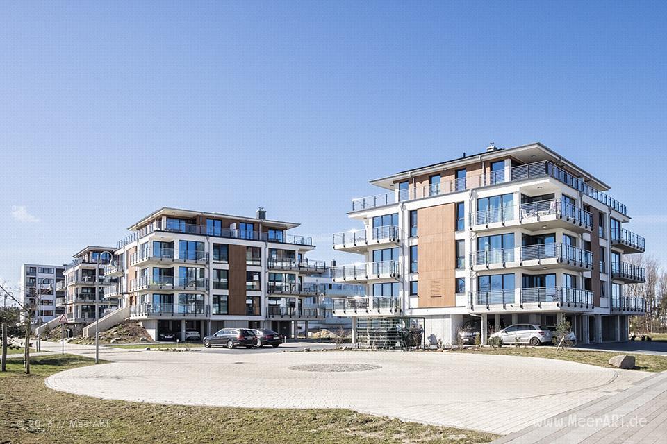 Ferienwohnungen mit Strandnähe in Heiligenhafen auf der Halbinsel Wagrien an der Ostsee // Foto: MeerART