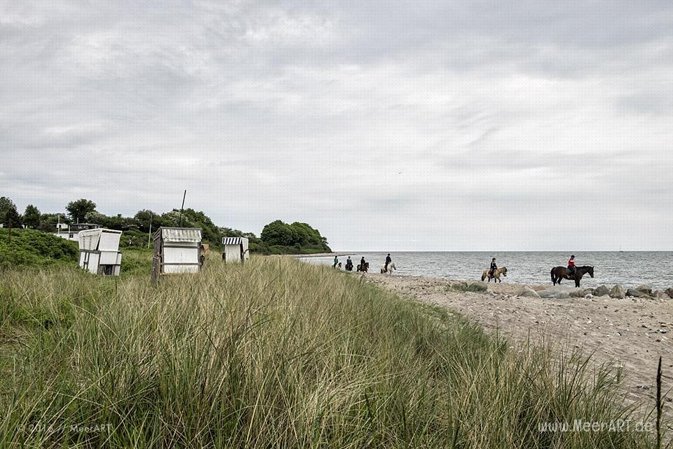 Strandabschnitt an der Ostsee bei Langholz // Foto: MeerART