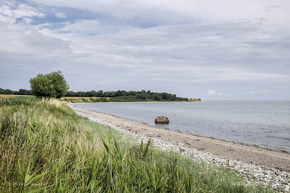 Idyllische Naturstrände an der Ostseeküste bei Waabs // Foto: MeerART