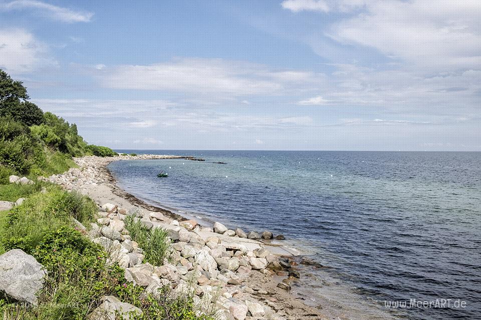 Idyllische Naturstrände an der Ostseeküste bei Waabs // Foto: MeerARTIdyllische Naturstrände an der Ostseeküste bei Waabs // Foto: MeerART