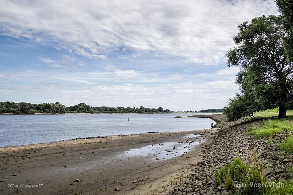 Impressionen von der Elbe bei Over // Foto: MeerART