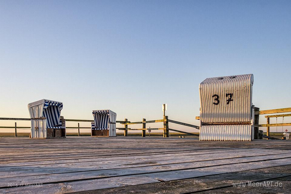 Impressionen aus der größten Sandkiste Deutschlands, der weitläufige Strand an der Nordsee in St. Peter-Ording // Foto: MeerART