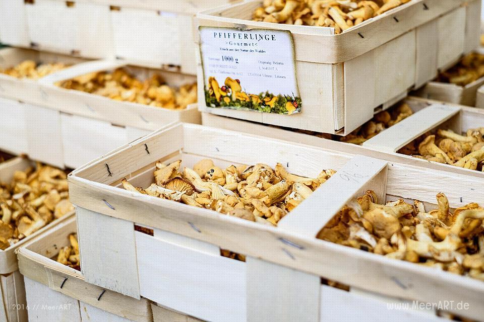 """Die """"Food Market Hamburg"""" in den Hallen vom Hamburger Goßmarkt // Foto: MeerART"""