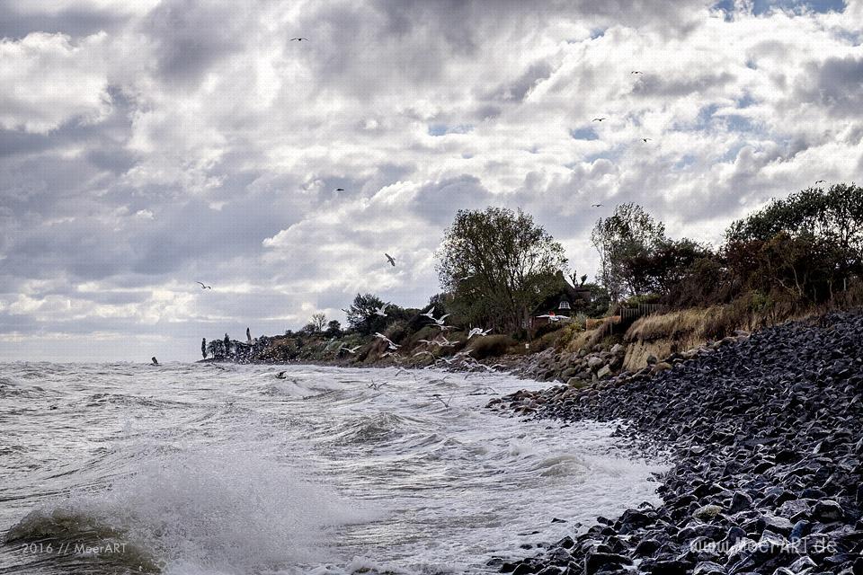 Start der Nebensaison an der Ostseeküste in Dahme // Foto: MeerART