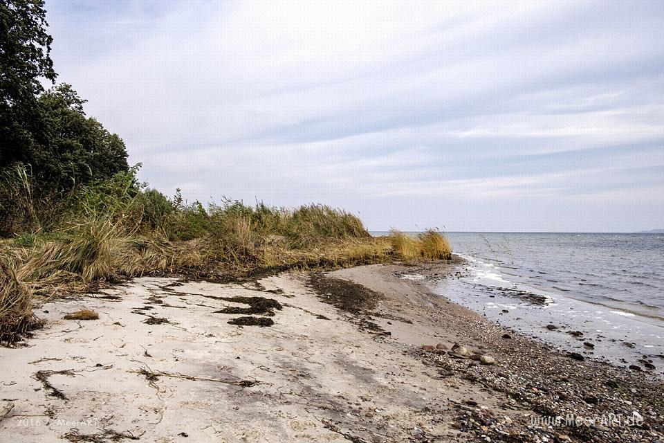 Idyllische und naturbelassene Strandabschnitte bei Zierow an der Wismarer Bucht // Foto: MeerART