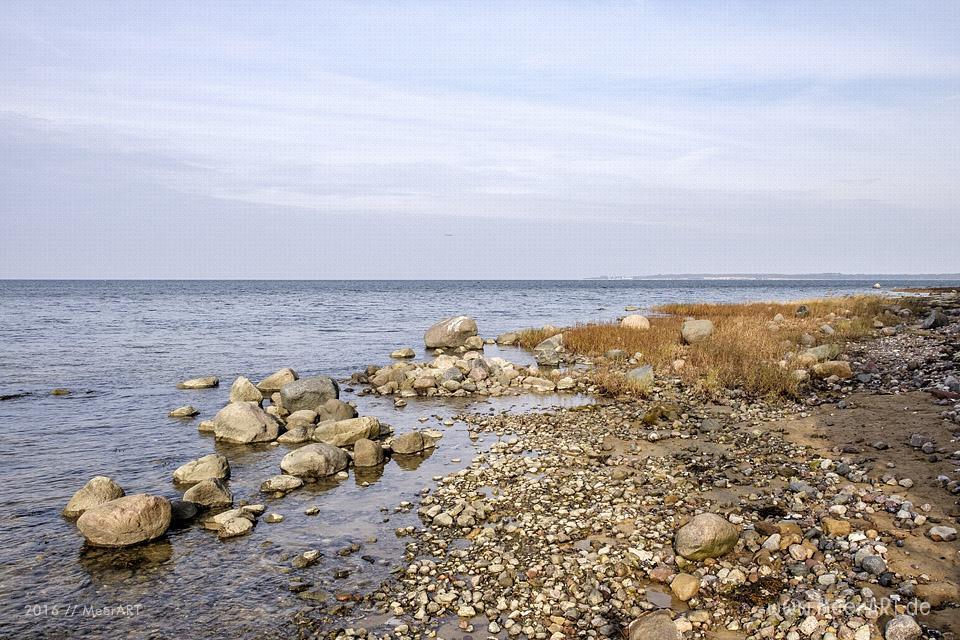 Herbstimpressionen vom idyllischen Ostseestrand in Hohen Wieschendorf // Foto: MeerART