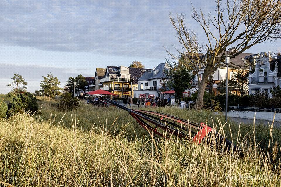 Herbstimpressionen aus dem schönen Ostseeheilbad Niendorf // Foto: MeerART